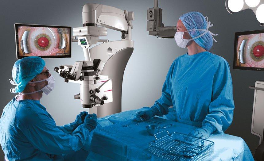 Operationssaal Augenzentrum Interlaken