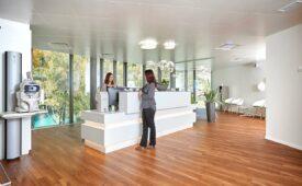 Empfang Augenzentrum Interlaken